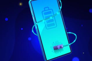 Handy-Akku schneller laden